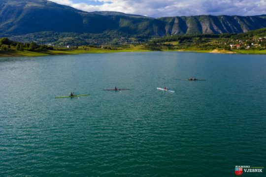 Foto/video: Ramski veslači se spremaju za nove medalje