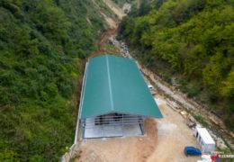 Foto/video: Postavljena željezna konstrukcija za sortirnicu