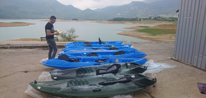 "Realizirana prva faza projekta ""Rama Lake Kayak Tour"""