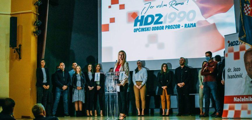 Održan sastanak i predstavljenje kandidata HDZ 1990 Prozor-Rama