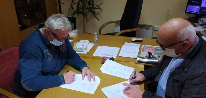 Potpisan Ugovor za izgradnju puta Jaklići – Draševo