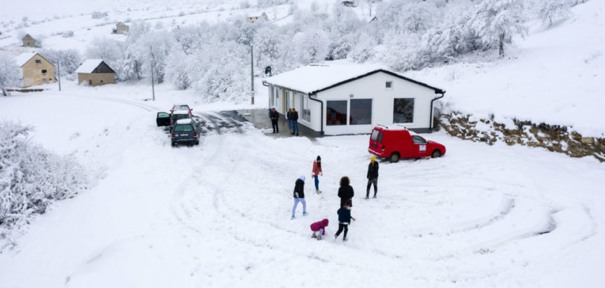 Foto/Video: Zahumske avanturističke zimske radosti