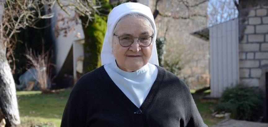 Časna sestra Ljubica Kovač iz Posušja koja liječi