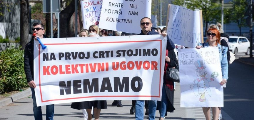 Borba zdravstvenih djelatnika u HNŽ-u se nastavlja