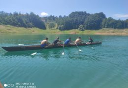 Studenti Studija Kineziologije Sveučilišta u Mostaru veslali na Ramskom jezeru