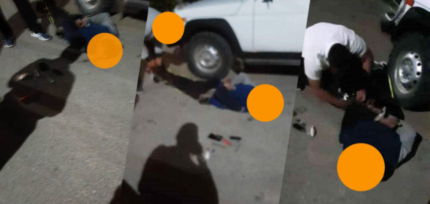 FOTO/VIDEO: Mještani Gračaca uhvatili lopova i predali ga policiji