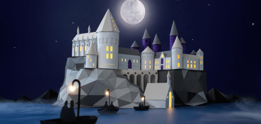 BRISTOL: Fascinantna papirna skulptura povodom 20. godišnjice djela Harry Potter i Kamen mudraca