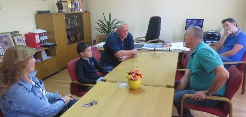 Načelnik Jozo Ivančević primio Marka Bošnjaka