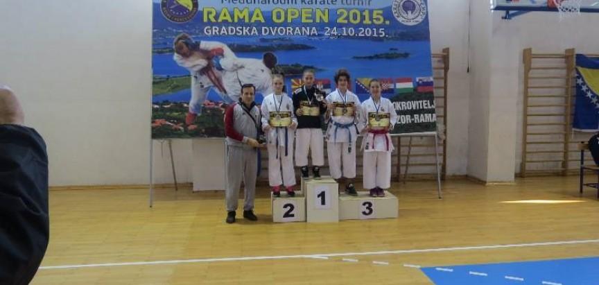 U Prozoru održan Međunarodni karate turnir Rama Open 2015.