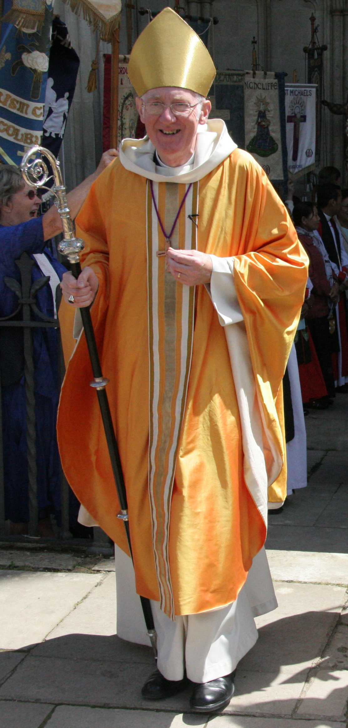 Bishop Michael at MU/Lambeth Festival Service 2008