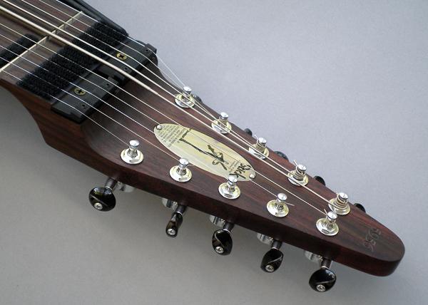 10弦 Chapman Stick、ローズウッド堅木材
