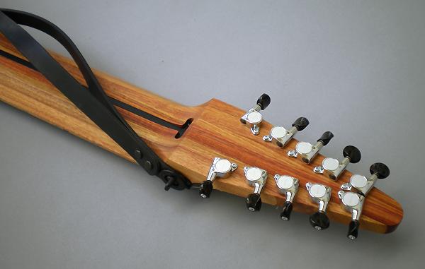 10弦 Chapman Stick、タララ堅木材