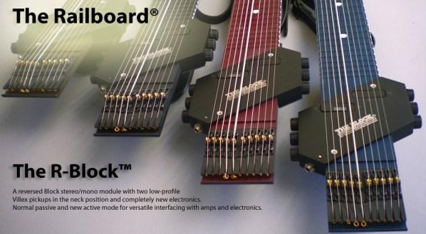 R-Block 付き Railboard