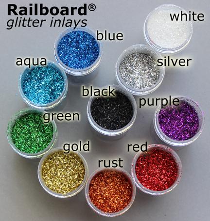 glitter inlay epoxy