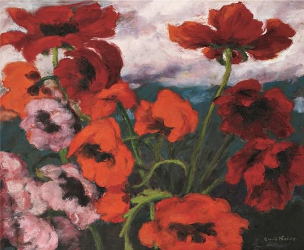 Splendor Of Colors Nolde Burda Frieze Museum Baden Ramuntchori