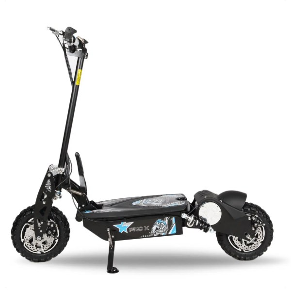 Pro X side view without seat electric scooter