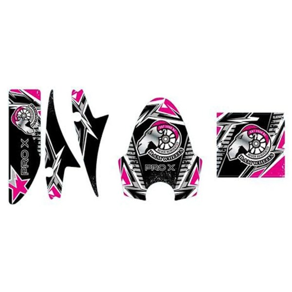 Pro X Pink Decal Set 1600W 48V Electric Scooter