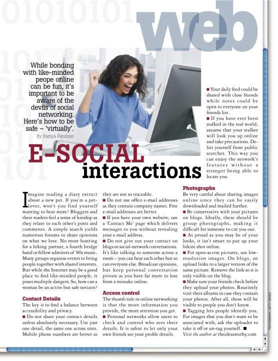 E-Social Interactions