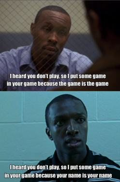 The game is the game