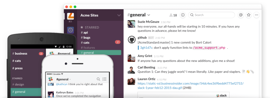 slack in use