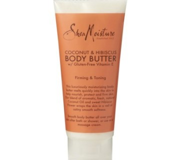 shea moisture coconut hibiscus body butter