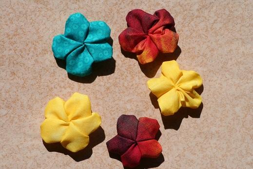 Stoffblumen  by Rn