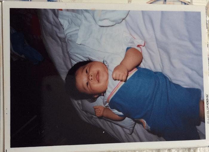 赤ちゃん時代