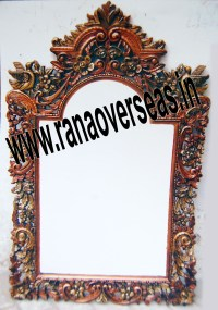 Wall Mirror frames  wooden antique mirror frames  Wooden ...