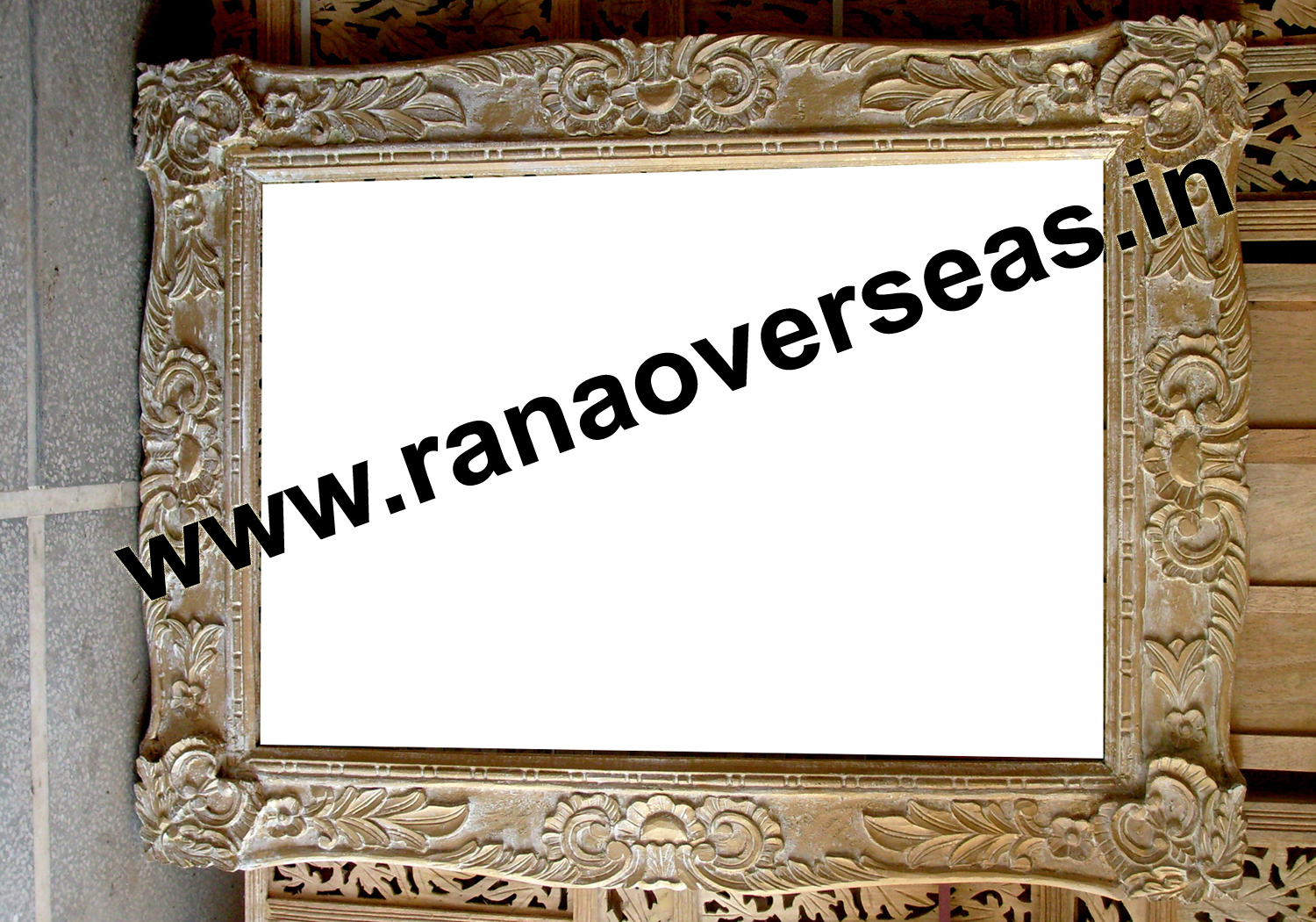 Wooden Antique Mirror Frames
