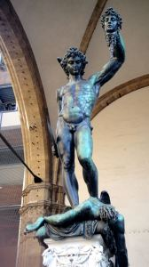 Hercules and Cacus Benvenuto Cellini's statue Perseus With the Head of Medusa