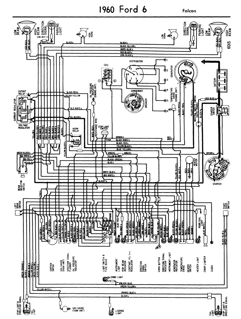 medium resolution of wiring diagram for 64 falcon