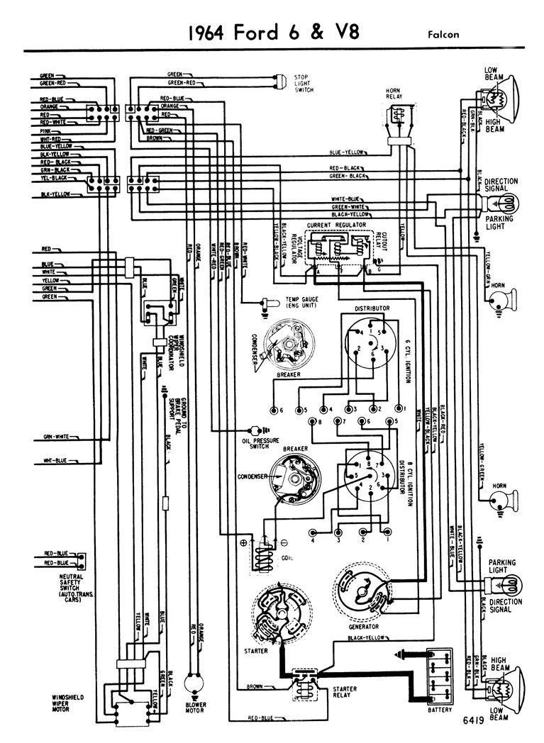 64 Ford Ignition Wiring Diagram, 64, Free Engine Image For