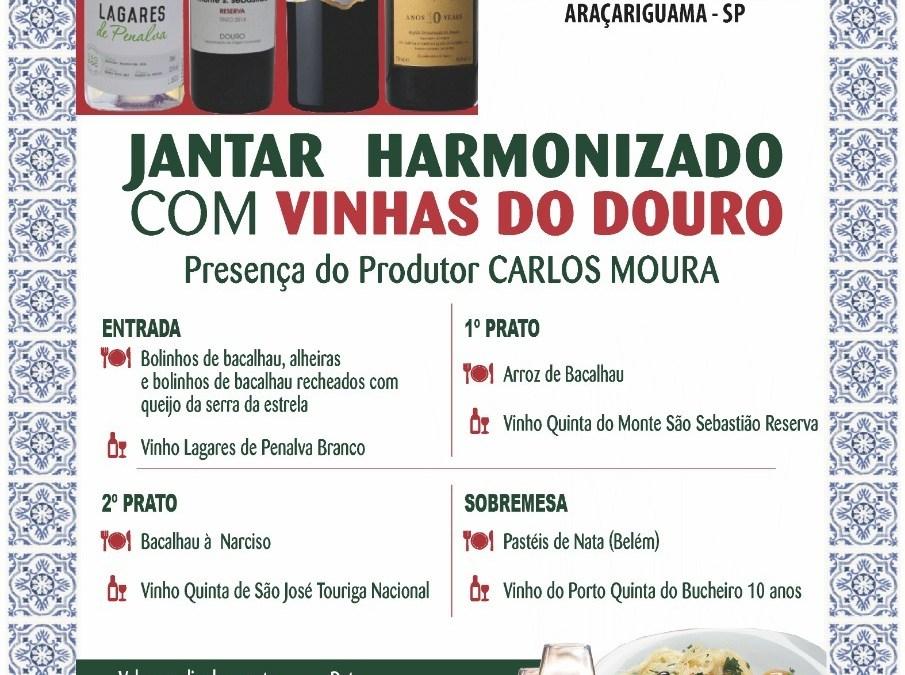 Jantar Harmonizado com Vinhas do Douro 2