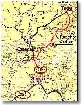 Maps Of Northern New Mexico : northern, mexico, Northern