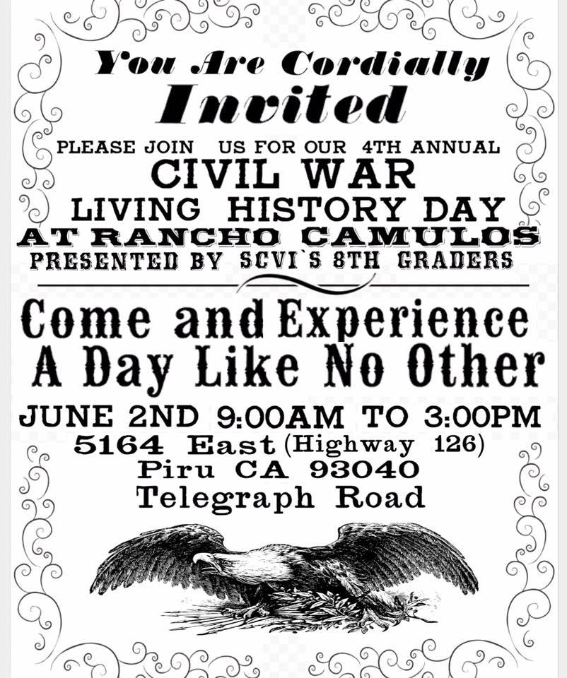 Civil War / Living History Day (SCVi)