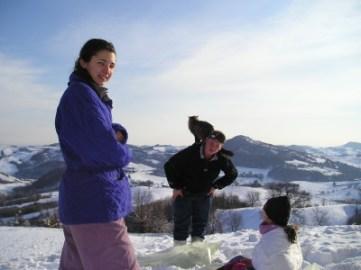 Alexia, Sean e Sacha (e Gateaux)