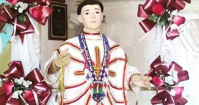 San Vicente Ferrer, Patrono de Carapa