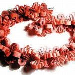 Recycled rubber bands bracelet