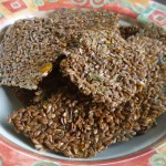 Savory Flaxseed Crackers