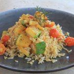 Rosemary Veggie Farm Rice