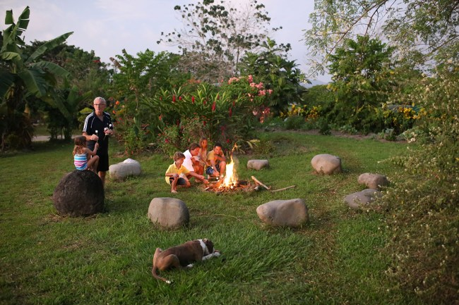 Fire Pit and Marshmallows