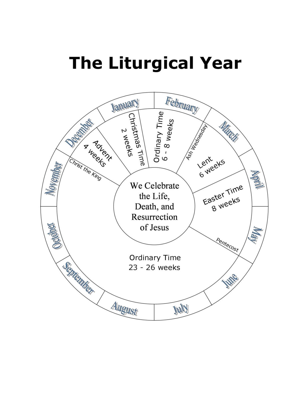 Catholic Liturgical Calendar For Students