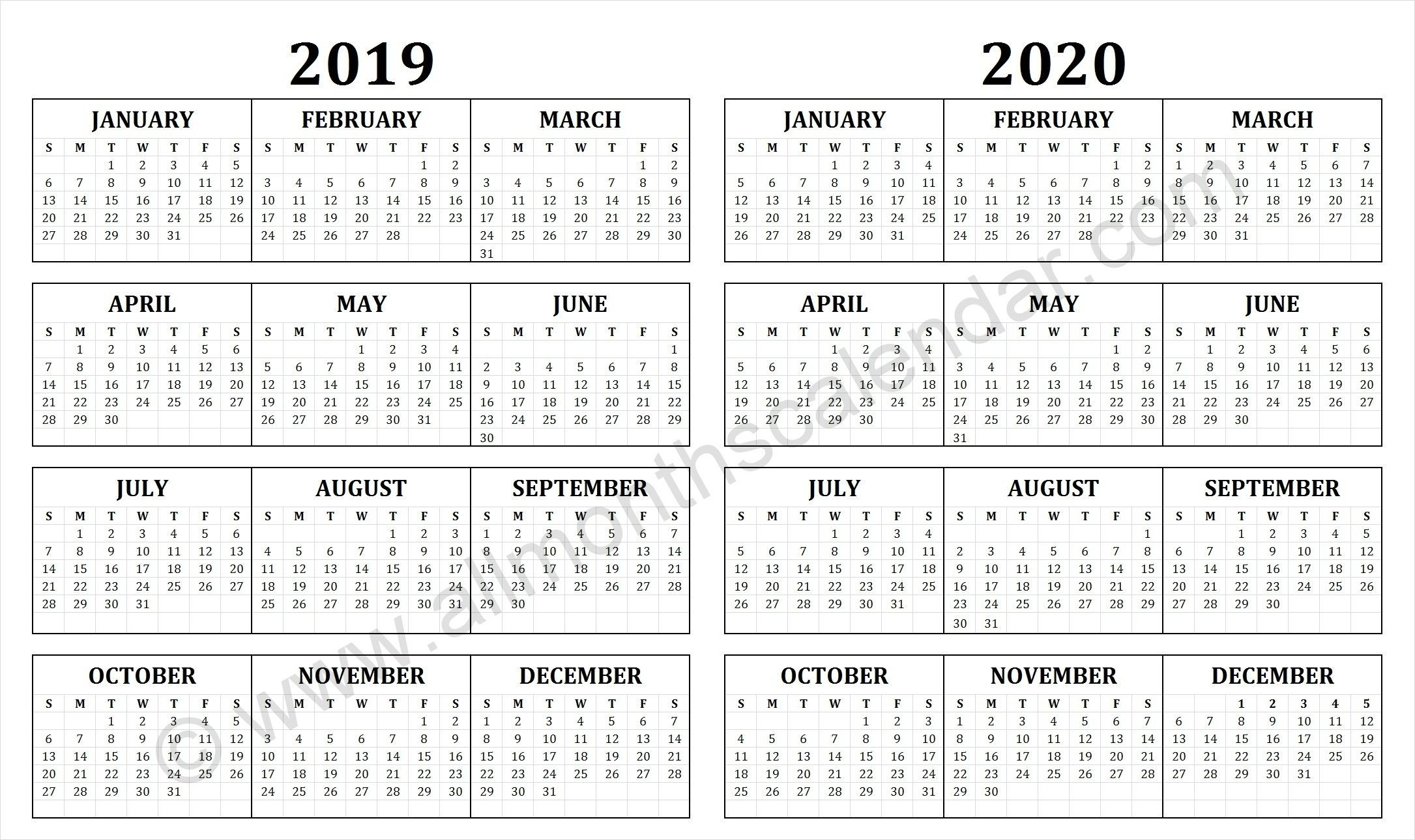 May 2020 - Page 4 - Template Calendar Design