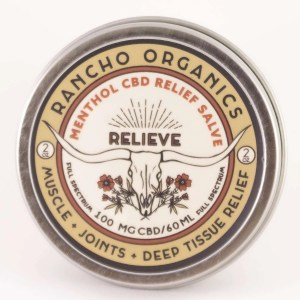 RELIEVE Menthol CBD Relief Salve