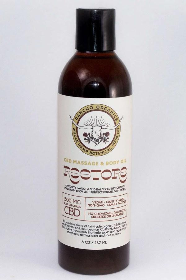 Restore CBD Massage Oil