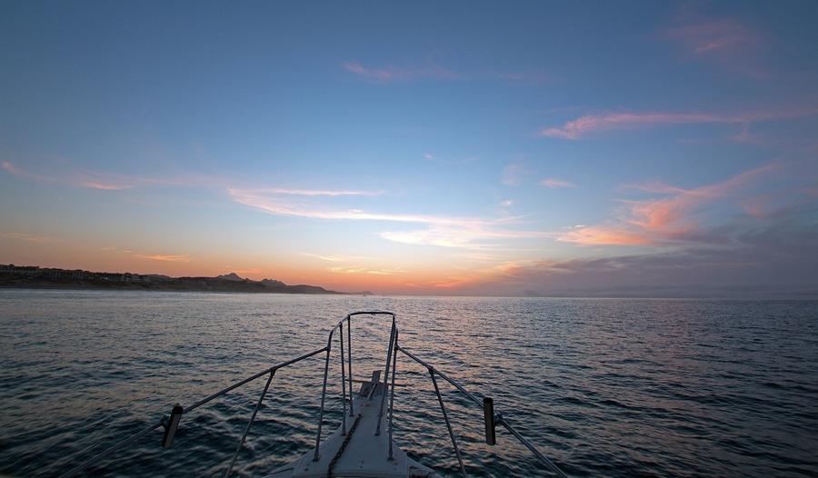 sunrise over the Sea of Cortes