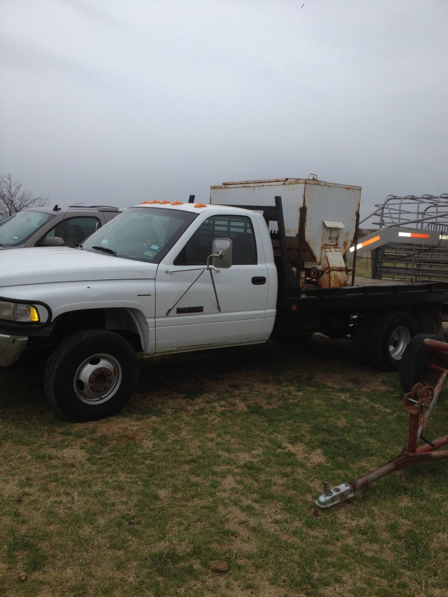Flatbed For Dodge 3500 Dually : flatbed, dodge, dually, Dodge, Flatbed, Diesel, Dually