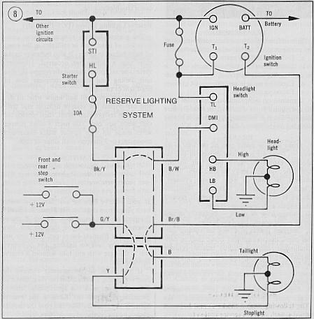 Gl 1500 Wires On Rear Fenderwire Diagram,Wires