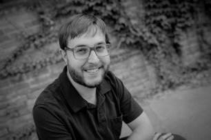 Literary Fiction writer Randal Eldon Greene bio photo in black and white