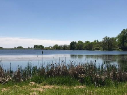 South view of Lake Maskenthine